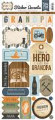 Grandpa Stickers - Echo Park