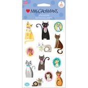 Crafty Cats Stickers - Mrs Grossman