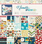 Go Now Go 12 x 12 Paper Pad - Shimelle