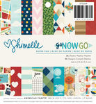 Go Now Go 6 x 6 Paper Pad - Shimelle
