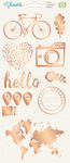 Go Now Go Phrases & Accent Sticker Sheet - Shimelle