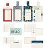 Go Now Go Patterned Luggage Tags - Shimelle