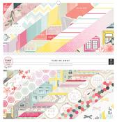 Take Me Away 12 x 12 Paper Pad - Pink Paislee