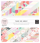 Take Me Away 6 x 6 Paper Pad - Pink Paislee
