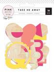 Take Me Away Wood Veneer Shapes - Pink Paislee