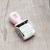 Take Me Away Roller Stamp - Pink Paislee