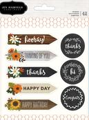 Warm & Cozy Cardstock Sticker Book - Pebbles