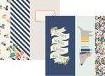 2 x 12, 4 x 12 & 6 x 12 Jounrlaing Paper - Posh - Simple Stories