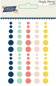 Posh Enamel Dots - Simple Stories
