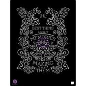 The Best Thing About Memories Is... 9.5x12 Stencil - Prima