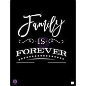 Family Is Forever 9.5x12 Stencil - Prima