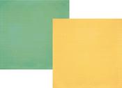 Mustard - Seafoam Diamond Paper - The Reset Girl - Simple Stories