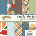 Hello Fall 6 x 6 Paper Pad - Simple Stories