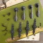 Chambery Antique Pulls - Memory Hardware - Prima