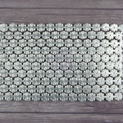 Silver Daisy Chain Large Paper Trim - Dresden - Relics & Artifacts - Prima