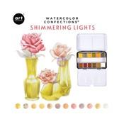 Shimmering Lights Confections Watercolor Pans 12/Pk - Prima