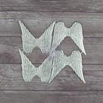 Wingspan Silver Paper Pieces - Dresden - Prima