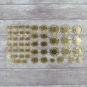 Gold Halo Paper Pieces - Dresden - Prima