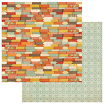 Autumn Color Paper - Falling Leaves - Photoplay