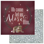 Oh Come Let Us Adore Him Paper - Luke 2 - Photoplay