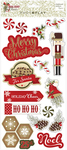 Holiday Cheer Chipboard Stickers - Photoplay