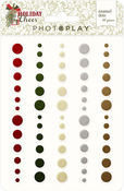 Holiday Cheer Enamel Dots - Photoplay