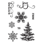 Holiday Cheer Stamp Set - Photoplay
