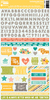 Hardy Hodgepodge Cardstock Sticker Sheet - Jillibean Soup
