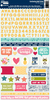 Chit Chat Chowder Cardstock Sticker Sheet - Jillibean Soup