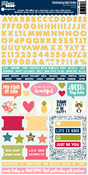 Chit Chat Chowder Cardstock Sticker Sheet - Jillibean Soup