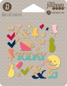 Chit Chat Chowder Wood Veneer Shapes - Jillibean Soup
