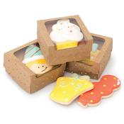 Kraft W/Dots - Sweet Sugarbelle Single Cookie Box