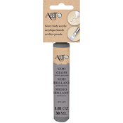 Gray - Art-C Heavy Body Gloss Acrylic Paint 30ml