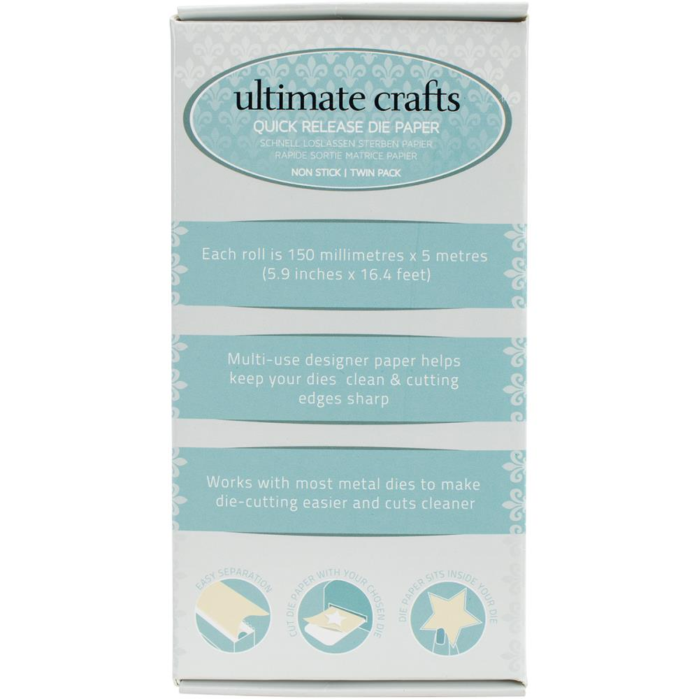 Ultimate Crafts Quick Release Die Paper