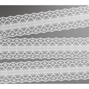 White - Magnolia Lane Ribbon 10yds