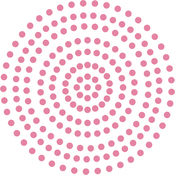 Pretty Pink - Couture Creations Self-Adhesive Pearls 3mm 206/Pkg