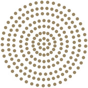 Glamorous Gold - Couture Creations Self-Adhesive Pearls 3mm 206/Pkg