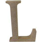 Serif Letter L - Smooth MDF Blank Shape