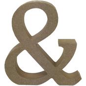 & Symbol - Smooth MDF Blank Shape