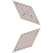 "Diamond 4"" - Couture Creations Quilt Essentials Quilting Die"