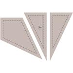 "Kite 3"" - Couture Creations Quilt Essentials Quilting Die"