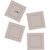 """Square 1.5"""" - Couture Creations Quilt Essentials Quilting Die"""