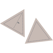 "Equilateral Triangle 3"" - Couture Creations Quilt Essentials Quilting Die"