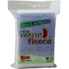 36 X45  - Warm Fleece Polyester Sew-In Batting Warm Company-Warm Fleece Polyester Sew In Batting. A soft 100% polyester fleece, easy-to-use with any type of fabric. Ideal for adding loft and dimension to a wide variety of projects. The soft polyester fibers enhance your project with gentle shape and texture. Perfect for use in placemats, table runners, wall- hangings, baby bibs and purses. Warm Fleece will not shrink or lose shape. Machine washable, dryer safe and dry cleanable. Sew-in fleece. This package contains one 36x45 inch warm fleece polyester sew-in batting piece. Made in USA.