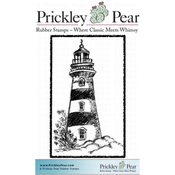 "Lighthouse - Prickley Pear Cling Stamps 2.25""X1.5"""