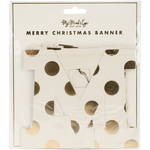 Merry Christmas - Holiday Letter Banner 6'