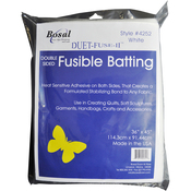 "36""X45"" - Duet-Fuse-II Double-Sided Fusible Batting"