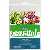 "Sanded - Grafix Essential Shrink Film 5.5""X8.5"" 4/Pkg"