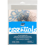 "Clear - Grafix Essential Ink Jet Film 5.5""x8.5"" 4/Pkg"