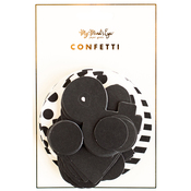 Black & White Double-Sided Confetti 100/Pkg
